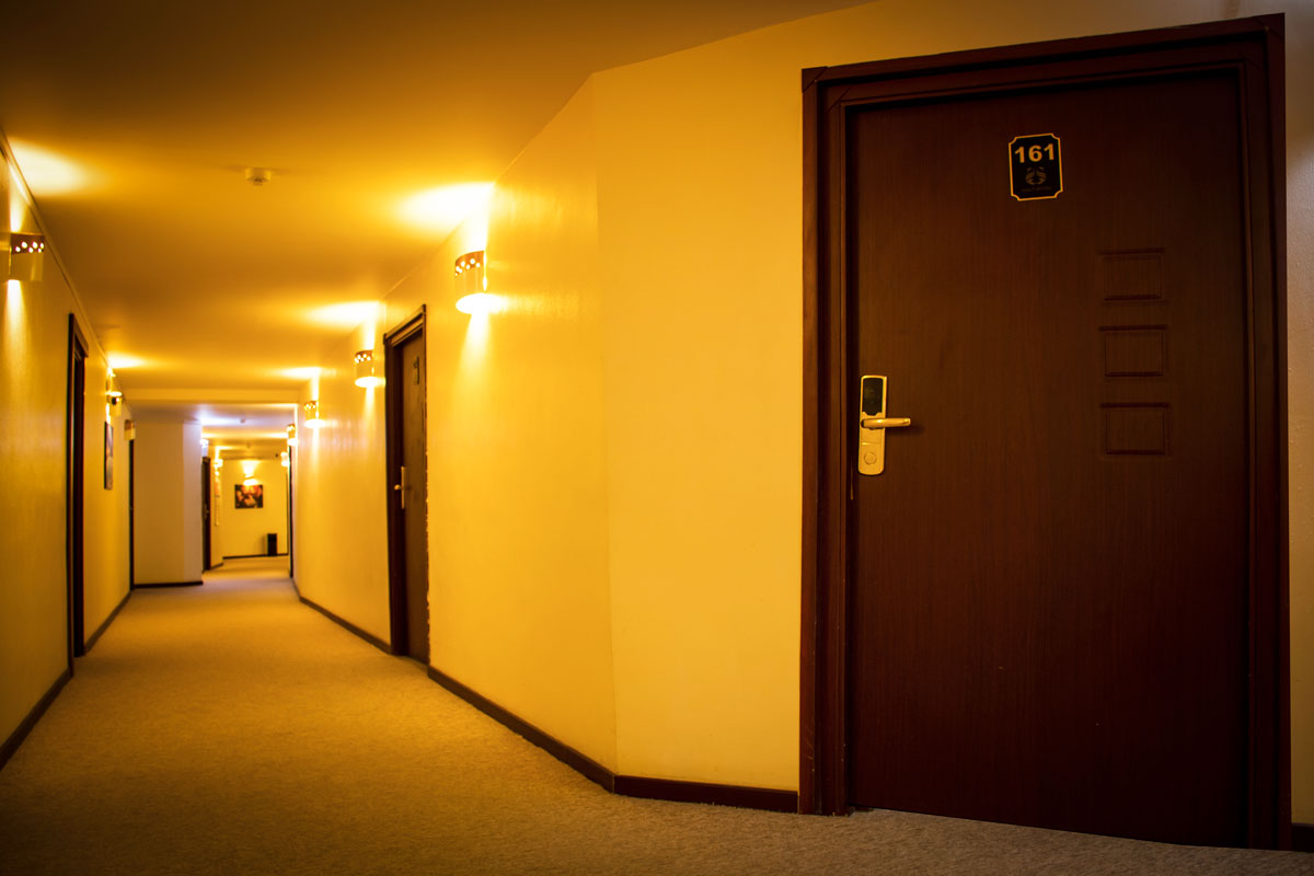 راهروی هتل سینگو